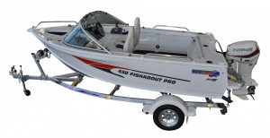 In Stock! Quintrex 430 Fishabout Pro