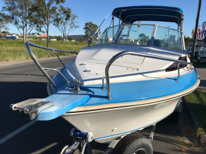 USED 1997 HAINES SIGNATURE 532F WITH 2020 MERCURY 115 FOURSTROKE FOR SALE