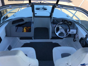 USED 2017 QUINTREX 481 FISHABOUT WITH YAMAHA 70HP FOURSTROKE FOR SALE