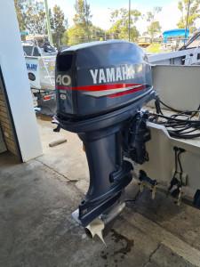 40hp Yamaha 2 stroke forward steer inc fitup