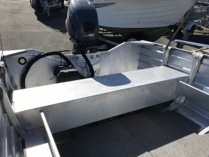 USED 2012 QUINTREX BUSTA CENTRE CONSOLE WITH YAMAHA 40HP OUTBOARD FOR SALE
