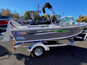 QUINTREX 430 FISHABOUT with 50hp EVINRUDE ETEC