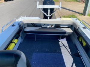 USED 2018 5.0M BLUEFIN WEEKENDER WITH 90HP MERCURY EFI 4-STROKE(166hrs)