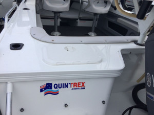 USED 2016 QUINTREX 530 OCEAN SPIRIT WITH YAMAHA 115HP FOURSTROKE FOR SALE