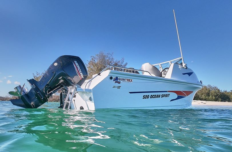 Quintrex 520 Ocean Spirit - New 2021 Model