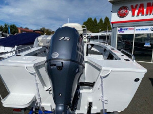 Quintrex 460 Renegade CC with Yamaha 75hp 4 stroke