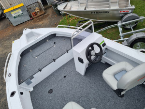 429 Outlaw Stacer, trailer and 40hp Mercury four stroke