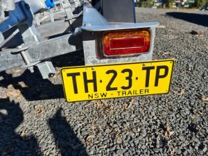 2750KG ALLOY TANDEM AXLE TRAILER 6.5-7.0m