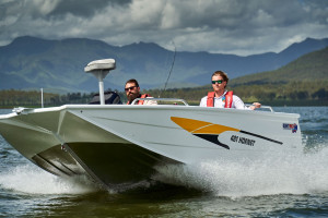 QUINTREX 450 HORNET WITH F70HP YAMAHA FOURSTROKE FOR SALE