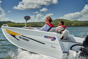 QUINTREX  481 HORNET  WITH YAMAHA 75HP FOR SALE
