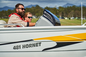 QUINTREX  481 HORNET PRO WITH YAMAHA 60HP FOR SALE