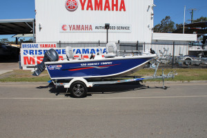 QUINTREX 420 HORNET TROPHY SC WITH 50HP YAMAHA FOURSTROKE FOR SALE