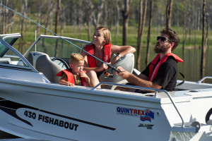 Quintrex 2021 430 Fishabout  Fishing Pack fitted with a F 60 EFI 4 stroke