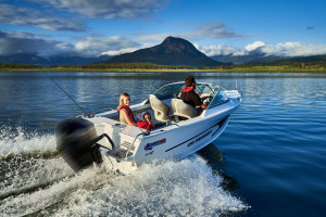 Quintrex 2021 430 Fishabout Pack 1  fitted with a F 60 EFI 4 stroke
