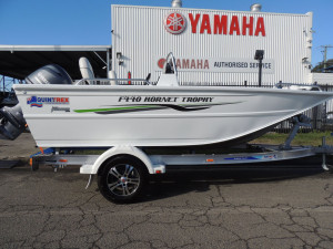 QUINTREX 440 HORNET TROPHY TS WITH 60HP YAMAHA FOURSTROKE FOR SALE