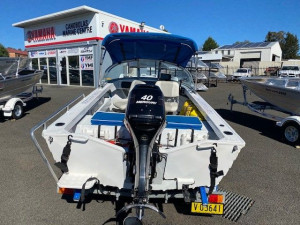 QUINTREX 420 ESTURAY ANGLER with 40hp