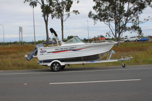 QUINTREX 481 CRUISEABOUT Our  Pack 4  powered by the Yamaha F90 HP