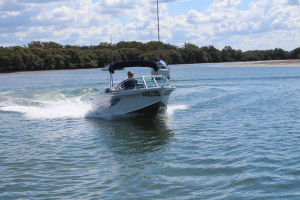Quintrex 500 Fishabout Pro fitted with a F90HP EFI 4-Stroke Yamaha