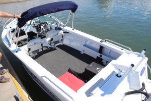 Quintrex 500 Fishabout Fishing Pack fitted with a F90HP EFI 4 stroke