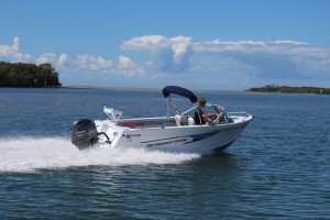 New Quintrex 2021 500 Fishabout Pack 4  fitted with a F90HP EFI 4 stroke Pack 4