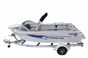 Quintrex 520 Fishabout  Comfort Pack fitted with a F115HP EFI 4 stroke