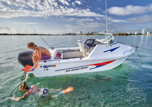 Quintrex 520 Ocean Spirit  Captain's Pack Powered by Yamaha F90HP