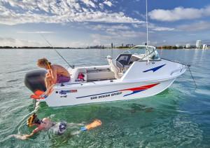 Quintrex 520 Ocean Spirit  Fishing Pack Powered by Yamaha F90HP