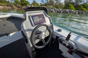 Quintrex 540 Top Ender pack 1 powered by the Yamaha F115HP