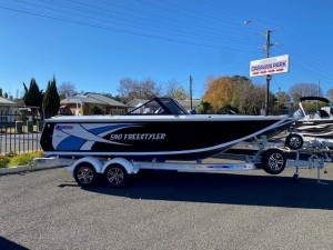 Quintrex 590 Freestyler with Yamaha 150hp