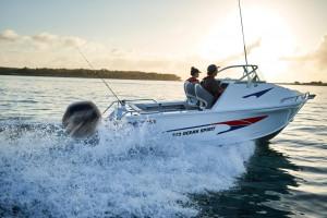QUINTREX 590 OCEAN SPIRIT  Comfort Pack Powered with a F130 HP Yamaha