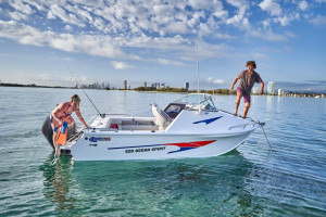 New Model QUINTREX 590 OCEAN SPIRIT  Our Pack 4 Powered with a F150 HP Yamaha