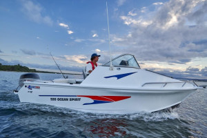 New Model QUINTREX 590 OCEAN SPIRIT  Fishing Pack Powered with a F130 HP Yamaha