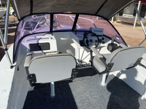 Trailcraft  4.5 powered by 50hp Honda