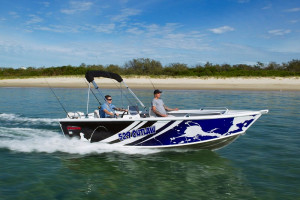 Stacer 529 Outlaw Side Console 2022 Model