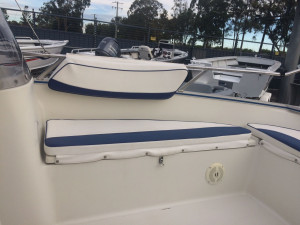 USED 2007 SILVER SHARK WITH YAMAHA 115 FOR SALE
