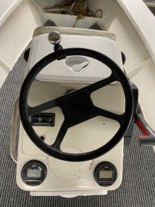 Centre Console 4.5m  fiberglass fishing-dive boat