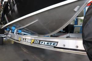 Yellowfin 6500 folding Hard Top