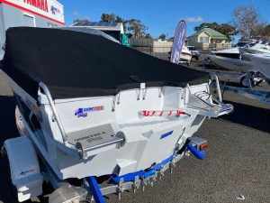 QUINTREX 430 FISHABOUT WITH 50HP YAMAHA