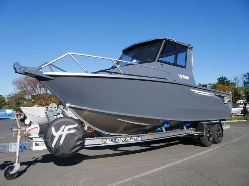 YELLOWFIN 7600 SOUTHERNER HARD TOP
