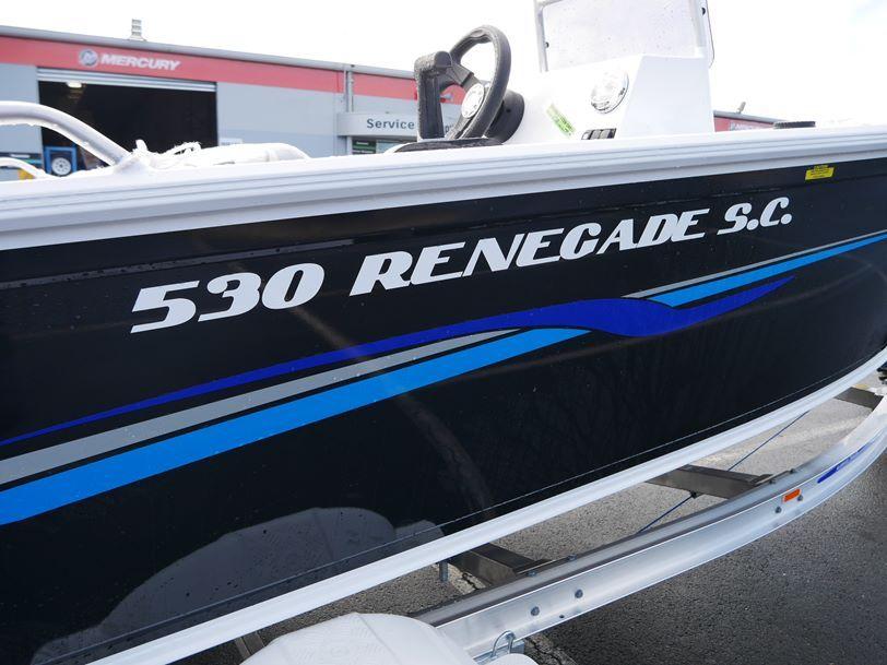 Quintrex 530 Renegade - Side Console