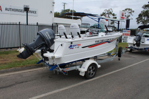 NEW QUINTREX 450 TOP ENDER PACK 1 F60HP 4-STROKE YAMAHA FOR SALE