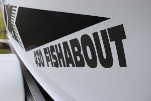 Quintrex 430 Fishabout