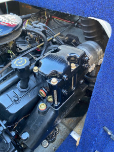 USED 2002 BAYLINER CAPRI BOWRIDER WITH 4.3LT 190HP MERCRUSIER