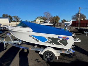 Quintrex 450 Fishabout  with 70HP Yamaha