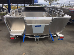 NEW 2021 QUINTREX 420 BUSTA WITH YAMAHA 40HP FOURSTROKE FOR SALE