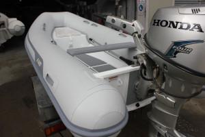 AB Navigo Vs 14 - fibre glass hull-  Inflatable RIB