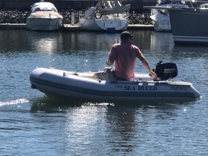Aurora Adventure Vesta V-250  Inflatable RIB