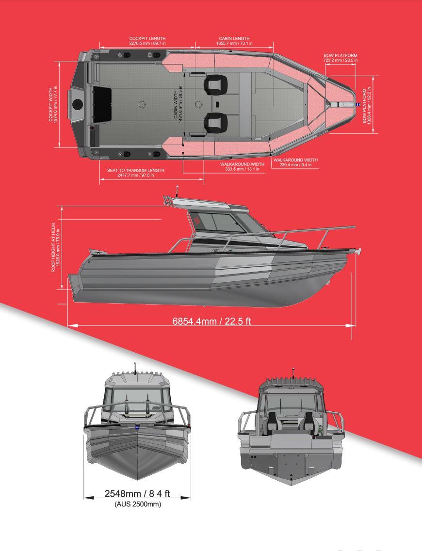 Stabicraft 2250 Centre Cab - Boat Brochure - Page 2 Perth Western Australia - Dealer Hitech Marine