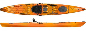 Brand new Tarpon 160 Sit on top touring kayak with rudder reduced from $2479 to $1939!