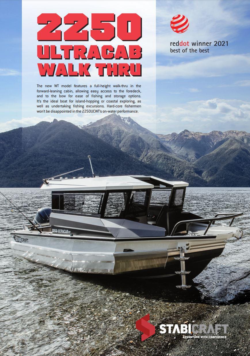 Stabicraft 2250 Ultracab Walk Thru Brochure Page 1